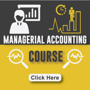 Managerial Accounting Course